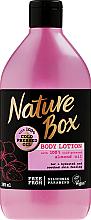Kup PRZECENA! Nawilżająco-wygładzający balsam do ciała z olejem migdałowym tłoczonym na zimno - Nature Box Almond Oil *