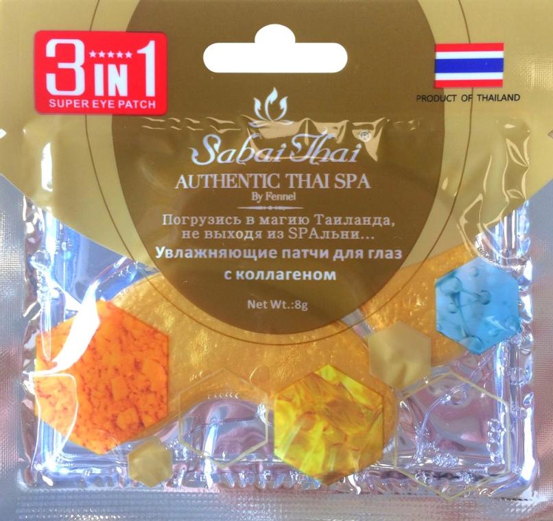 Nawilżające płatki pod oczy z kolagenem - Sabai Thai Collagen Eye Patch