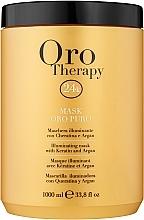 Kup Rewitalizująca maseczka z aktywnymi drobinkami złota - Fanola Oro Therapy Oro Puro Mask