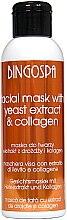 Kup Oczyszczająca maska do cery tłustej Ekstrakt z drożdży piwnych i kolagen - BingoSpa Mask With Brewer's Yeast Extract And Collagen