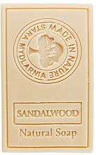 Kup Naturalne mydło w kostce Drzewo sandałowe - Stara Mydlarnia Body Mania Sandalwood Natural Soap