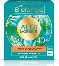 Odżywczy krem lipidowy na dzień i na noc 40+ - Bielenda Algi morskie — фото N1