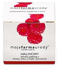 Kup Peeling do twarzy z malinami - Moja Farma Urody