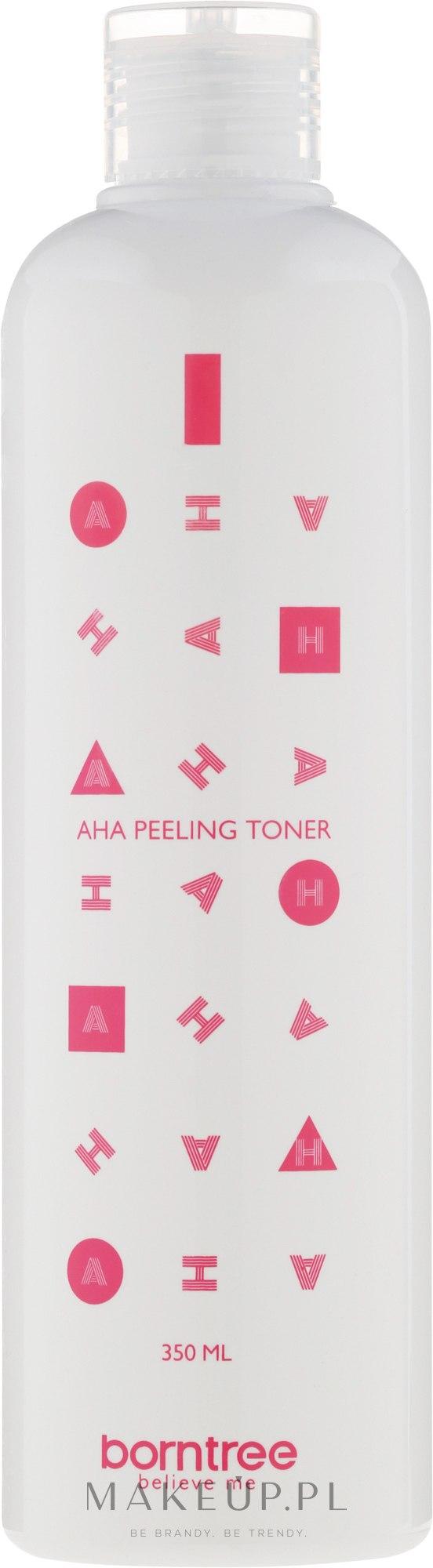 Nawilżający tonik do twarzy z kwasami AHA - Borntree AHA Feeling Toner — фото 350 ml