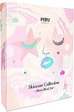 Kup Zestaw maseczek do twarzy - Pibu Beauty Skincare Collection Mask Set (f/mask/27g + f/mask/2x29ml + f/mask/2x18g)