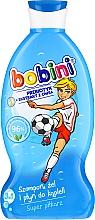 Szampon, żel i płyn do kąpieli Super piłkarz - Bobini — фото N2