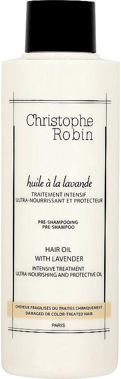 Olejek do włosów Lawenda - Christophe Robin Lavender Moisturising Hair Oil — фото N1
