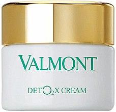 Kup Detoksykujący tlenowy krem do twarzy - Valmont Deto2x Cream