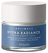 Kup Nawilżający krem do twarzy na noc do cery mieszanej - Oriflame Optimals Cream
