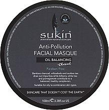 Kup Maska do twarzy przeciw zanieczyszczeniom - Sukin Oil Balancing + Charcoal Anti-Pollution Facial Masque
