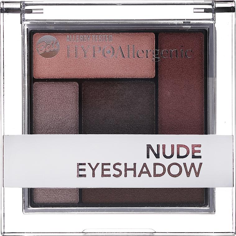 Paletka hipoalergicznych cieni do powiek - Bell Hypoallergenic Nude Eyeshadow