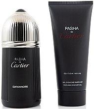 Kup Cartier Pasha de Cartier Édition Noire - Zestaw (edt 100 ml + sh/gel 100 ml)