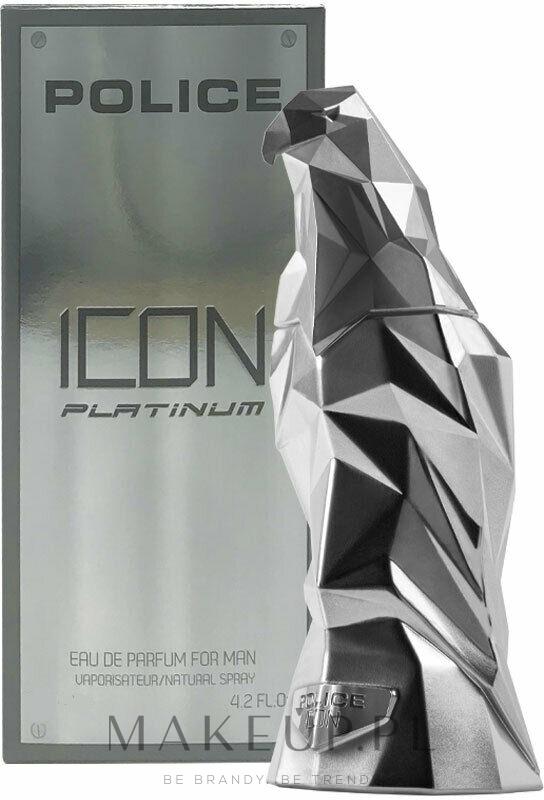 police icon platinum