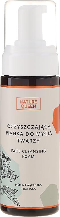 Oczyszczająca pianka do mycia twarzy - Nature Queen