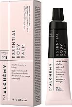 Kup PRZECENA! Esencjonalny balsam do ciała - D'Alchemy Essential Body Balm (miniprodukt) *