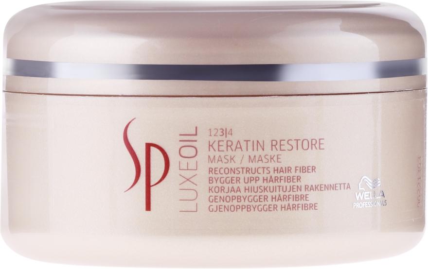 Regenerująca maska do włosów - Wella SP LuxeOil Keratin Restore Mask