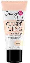 Kup Wygładzający podkład nawilżający do twarzy - Bell Creamy Touch Correcting Foundation