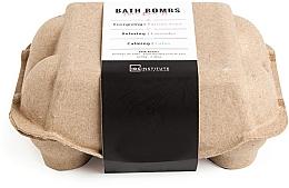 Kup Zestaw kul do kąpieli - IDC Institute Pure Energy Bath Bombs Lavender & Passion Fruit & Lotus (b/bomb 6 x 70 g)
