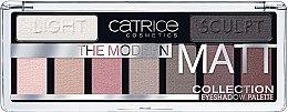 Kup Paletka matowych cieni do powiek - Catrice The Modern Matt Collection Eyeshadow Palette