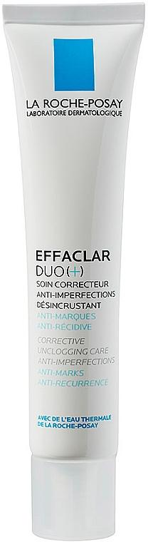 Krem korekcyjny do walki z niedoskonałościami skóry - La Roche-Posay Effaclar Duo+ — фото N1