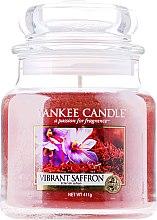 Kup Świeca zapachowa w słoiku - Yankee Candle Vibrant Saffron