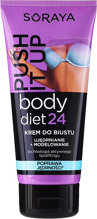 Krem do biustu Ujędrnianie i modelowanie - Soraya Body Diet 24 Bust cream