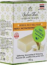 Kup Mydło w kostce z ekstraktem z otrębów ryżowych - Sabai Thai Herbal Rice Milk Soap