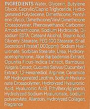 Odżywczo-nawilżający krem ze śluzem ślimaka - Skin79 Natural Snail Mucus Cream — фото N4