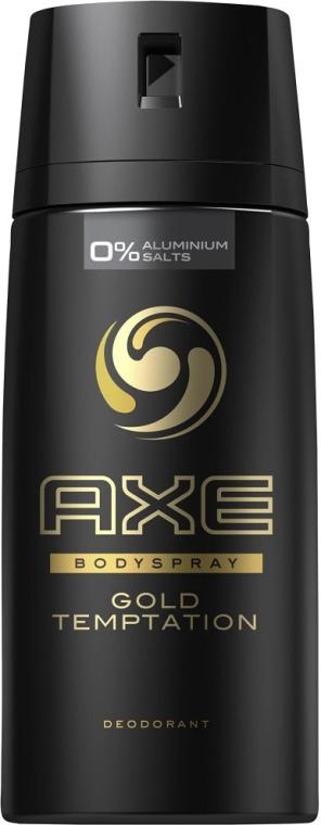 Gold Temptation Dezodorant w sprayu dla mężczyzn - Axe Deodorant Bodyspray Gold Temptation — фото N1