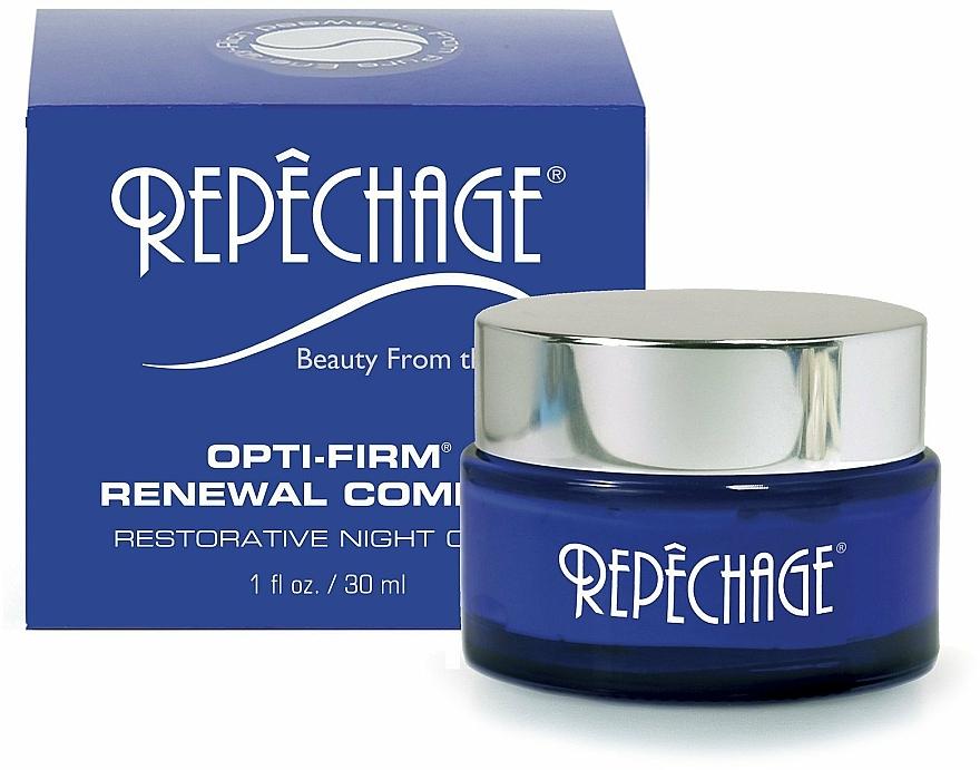 Nawilżający krem do twarzy na noc - Repechage Opti-Firm Renewal Complex Night Cream — фото N2