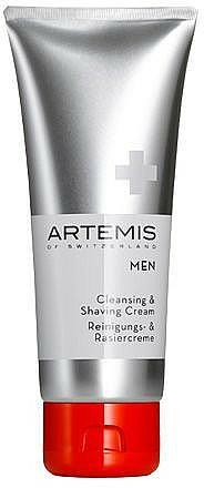 Oczyszczający krem do golenia - Artemis of Switzerland Men Cleansing & Shaving Cream — фото N1