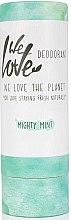 Kup Hipoalergiczny dezodorant w sztyfcie odświeżający - We Love The Planet Mighty Mint Deodorant Stick