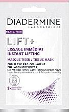 Kup Liftingująca maseczka na tkaninie do twarzy - Diadermine Lift+ Instant Lifting Tissue Mask