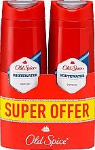 Kup Żel do mycia ciała, 2 x 400 ml - Old Spice Whitewater Shower Gel