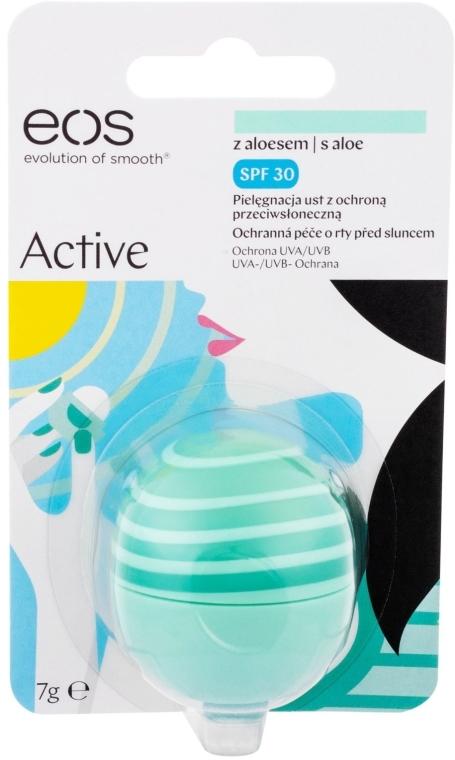 Balsam do ust z aloesem SPF 30 - EOS Active Lip Balm Aloe — фото N1