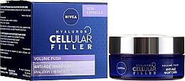 Kup Przeciwstarzeniowy krem do twarzy na noc - Nivea Hyaluron Cellular Filler Night Cream