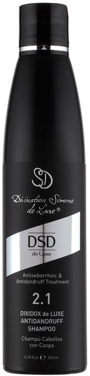 Szampon przeciwłupieżowy No 2.1 do włosów - Simone DSD De Luxe Dixidox DeLuxe Antidandruff Shampoo — фото N2