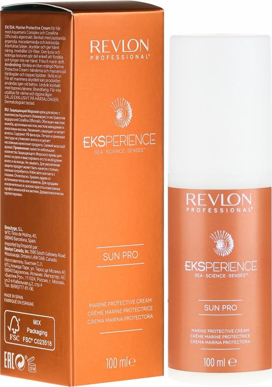 Krem chroniący włosy przed słońcem - Revlon Professional Eksperience Sun Pro Protective Cream — фото N1