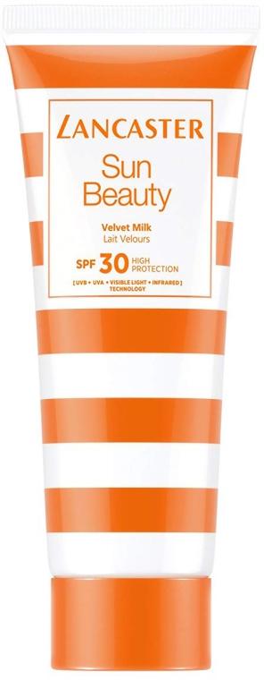 Nawilżające mleczko do ciała SPF 30 - Lancaster Sun Beauty Velvet Milk — фото N1