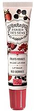 Kup Balsam do ust Czerwone owoce - Panier des Sens Lip Balm Shea Butter Red Berries