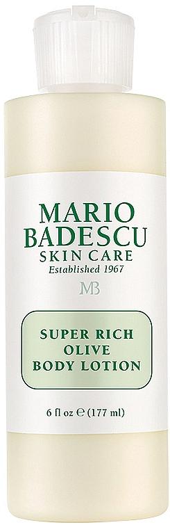 Balsam do ciała z oliwką - Mario Badescu Super Rich Olive Body Lotion  — фото N2