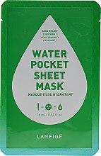 Kup Kojąca maska w płachcie do twarzy - Laneige Water Pocket Sheet Mask Skin Relief