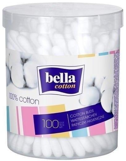 Patyczki kosmetyczne - Bella 100% Cotton Buds — фото N1
