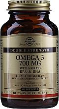 Kup Suplement diety Omega-3 700 mg EPA i DHA - Solgar Double Strength Omega-3 700 mg EPA & DHA