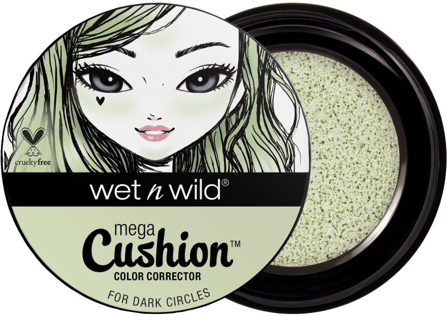 Kolorowy korektor w gąbce cushion do twarzy - Wet N Wild MegaCushion Color Corrector — фото N1