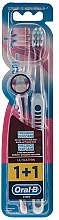 Kup Miękkie szczoteczki do zębów, błękitna i różowa - Oral-B Ultrathin Precision Gum Care Extra Soft
