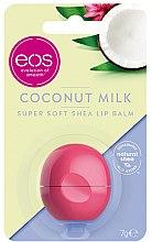Balsam do ust Mleczko kokosowe - EOS Visibly Soft Lip Balm Sphere Coconut Milk — фото N4