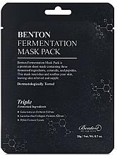 Kup Odżywcza maska na tkaninie - Benton Fermentation Mask Pack