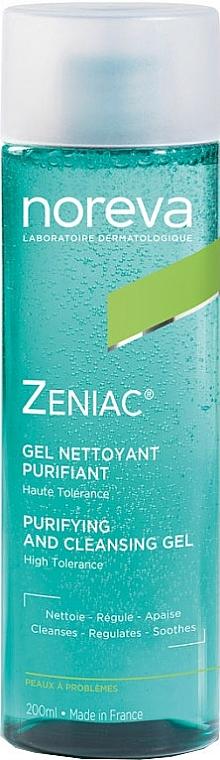 Oczyszczający żel do mycia twarzy - Noreva Laboratoires Zeniac Purifying And Cleansing Gel — фото N1