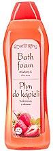 Kup Płyn do kąpieli Truskawka i aloes - Bluxcosmetics Naturaphy Strawberry & Aloe Vera Bath Foam